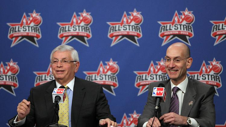 NBA: All Star Game-David Stern Press Conference