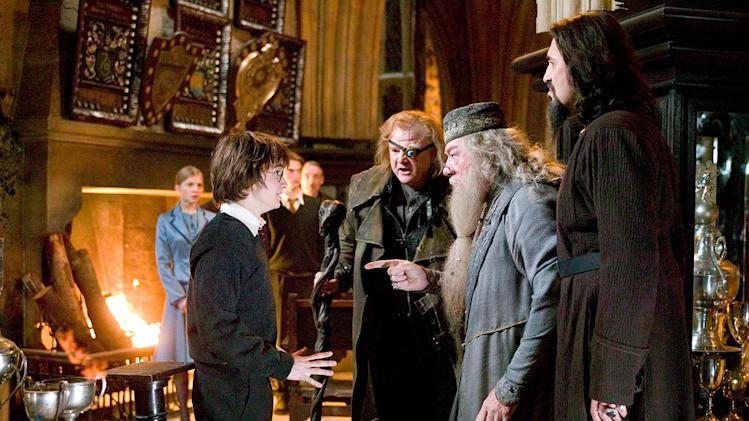 Harry Potter and the Goblet of Fire 2005 Warner Bros. Pictures Daniel Radcliffe Brendan Gleeson Michael Gambon