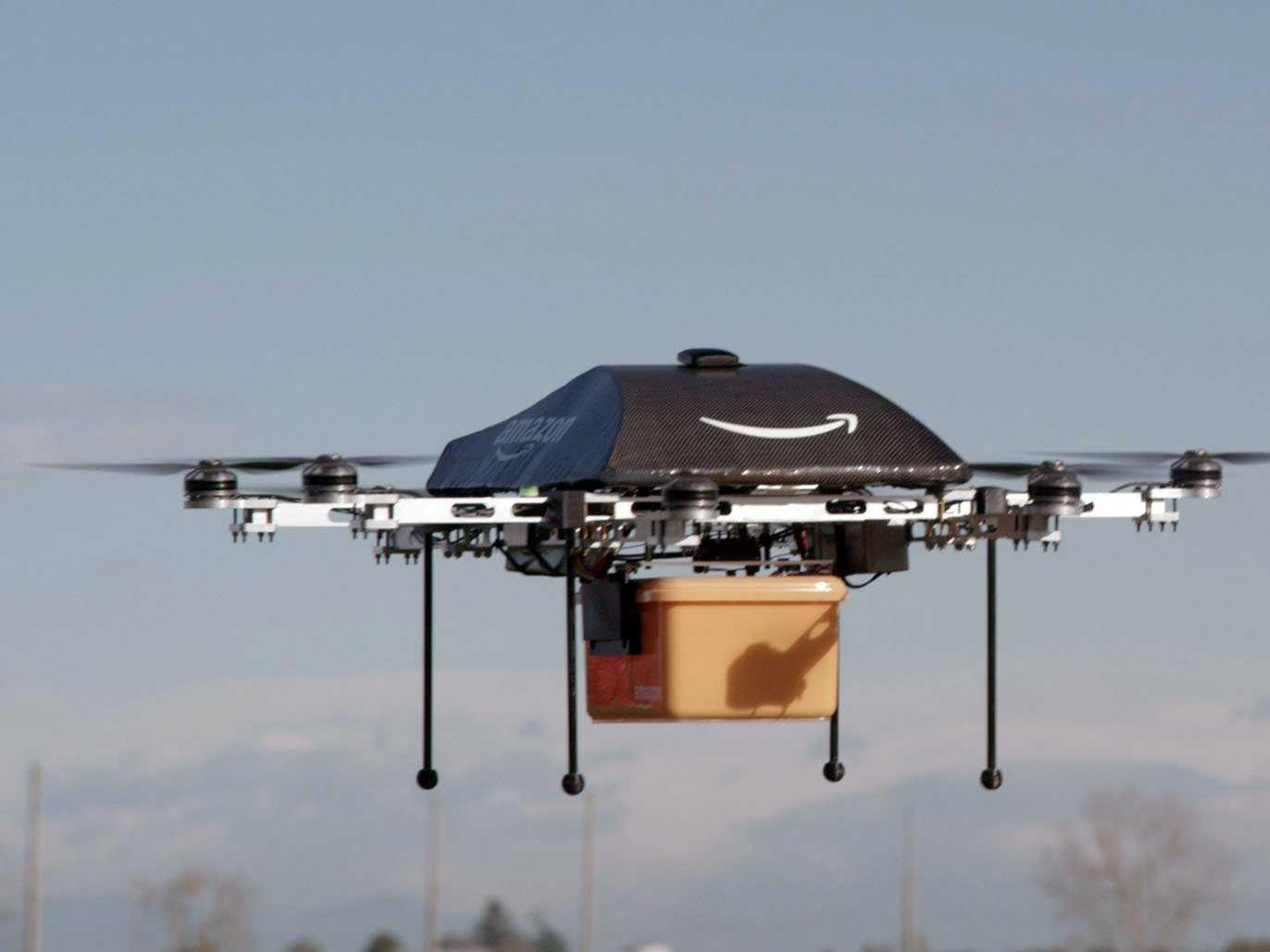 We're one step closer to having drones deliver our goods thanks to an unexpected partnership between two tech giants