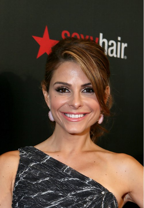 IMAGE DISTRIBUTED FOR SEXY HAIR - Maria Menounos arrives at The Sexy Hair Celebration For The Gracies Presented By The Alliance For Women In Media Foundation, on Tuesday, May, 21, 2013 in Beverly Hill
