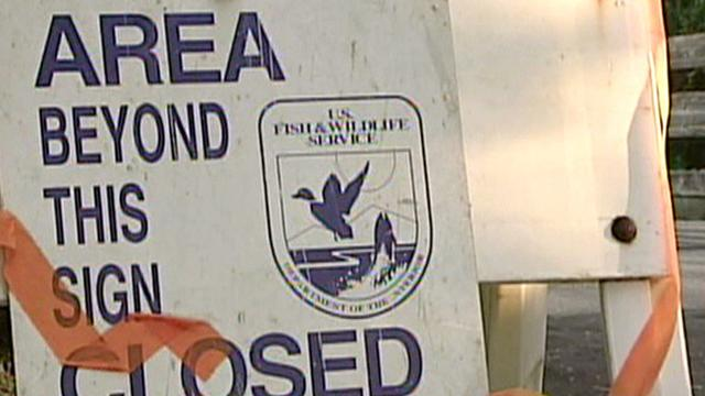 Government shutdown keeps Fla. wildlife refuge closed