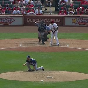 Hedges throws out Heyward