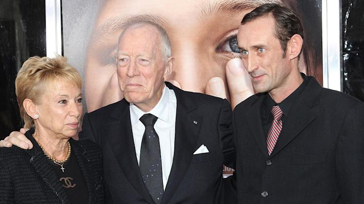 Extremely Loud and Incredibly Close 2011 NY Premiere Max Von Sydow