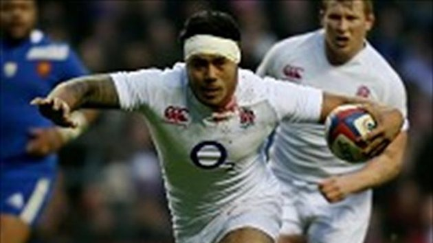 Manu Tuilagi was determined to carry on for England