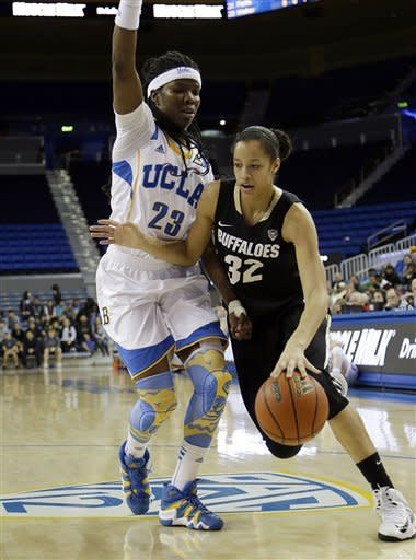 No. 18 UCLA women beat No. 22 Colorado 62-46