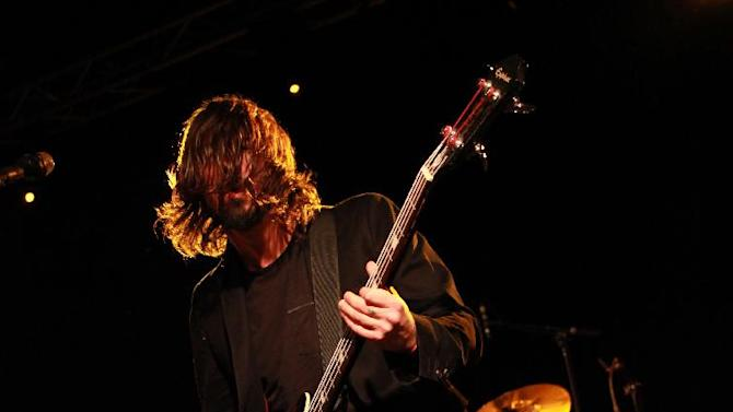 Dave Grohl, of the Foo Fighters performs with the Sound City Players at Park City Live Day 2 on Friday, January 18, 2013, in Park City, Utah. (Photo by Barry Brecheisen/Invision for Park City Live/AP Images)