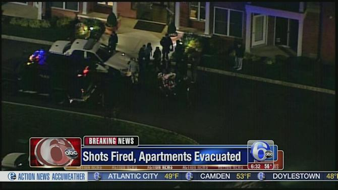 Suspect in custody after apartments evacuated in East Norriton