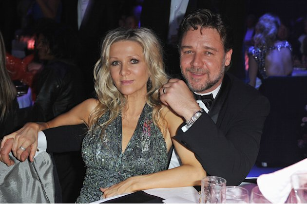 Danielle Spencer Russell Crowe 2010