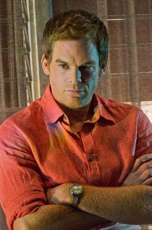 FILE - In this publicity file image released by Showtime, Michael C. Hall portrays Dexter Morgan in a scene from &quot;Dexter.&quot; (AP Photo/Showtime, Randy Tepper, File)