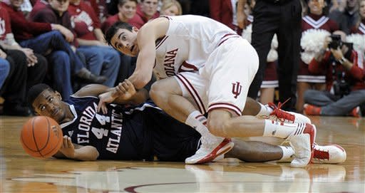 No. 6 Indiana routs Florida Atlantic 88-52