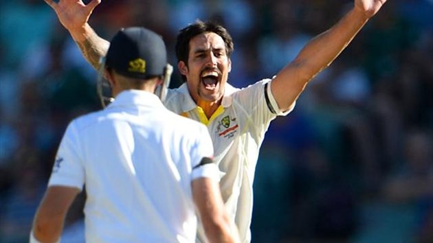 Australia's Mitchell Johnson (AFP)