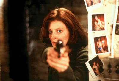 Jodie Foster as Agent Clarice Starling in MGM's The Silence of the Lambs