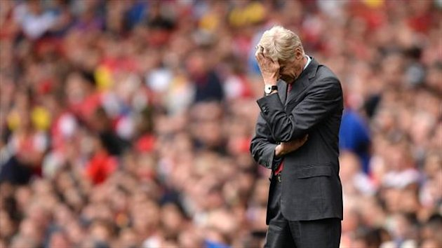 Arsene Wenger was left perplexed by a whole series of events in Arsenal's defeat to Aston Villa