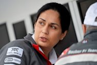 Monisha Kaltenborn, CEO of Sauber, pictured in the pits at the Circuit Gilles Villeneuve during the first practice session for the 2012 Formula One Canadian Grand Prix in Montreal, Canada, in June. Kaltenborn became team principal at Sauber on Thursday with immediate effect after its founder, the highly respected Peter Sauber, decided to step down from day-to-day management