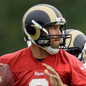 Will St. Louis Rams quarterback Sam Bradford hold his starting spot?