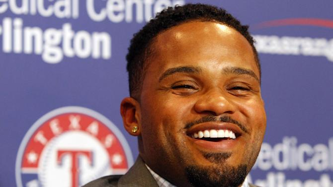 Rangers introduce No 84, new 1B Prince Fielder