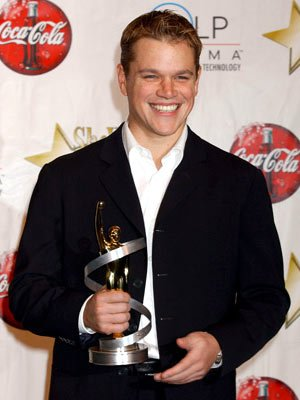 Matt Damon - Male Star of the Year ShoWest 2005 Awards Night - Las Vegas, NV - 3/17/05