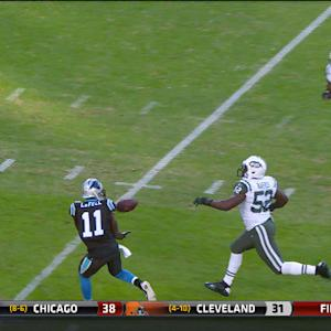 Carolina Panthers wide receiver Brandon LaFell 36-yard catch
