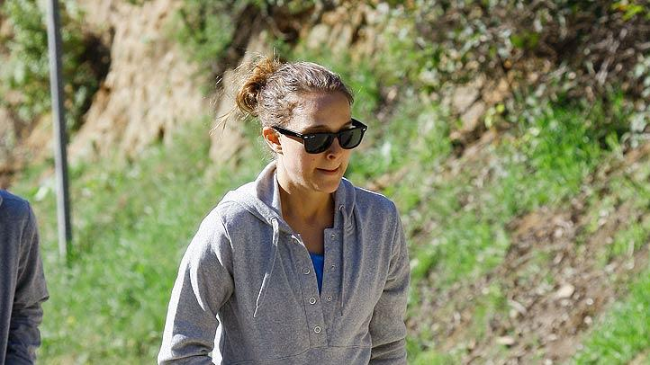 Natalie Portman Hiking