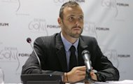 Paralympic and Olympic runner Oscar Pistorius of South Africa speaks during a news conference after the official opening ceremony of the Doha GOALS forum in Doha, on December 11 2012. Picture:REUTERS