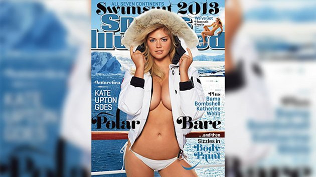 Polar Bare: Kate Upton Heats Up SI Swimsuit Cover