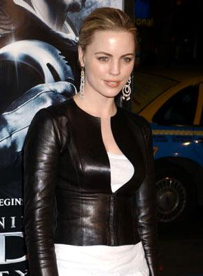 Melissa George at the Hollywood premiere of New Line Cinema's Blade: Trinity