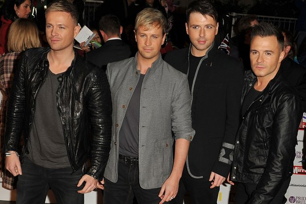 Westlife: Nicky Byrne, Kian Egan, Mark Feehily und Shane Filan (Bild: Getty Images)
