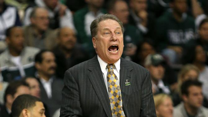 Tom Izzo of the Michigan State Spartans