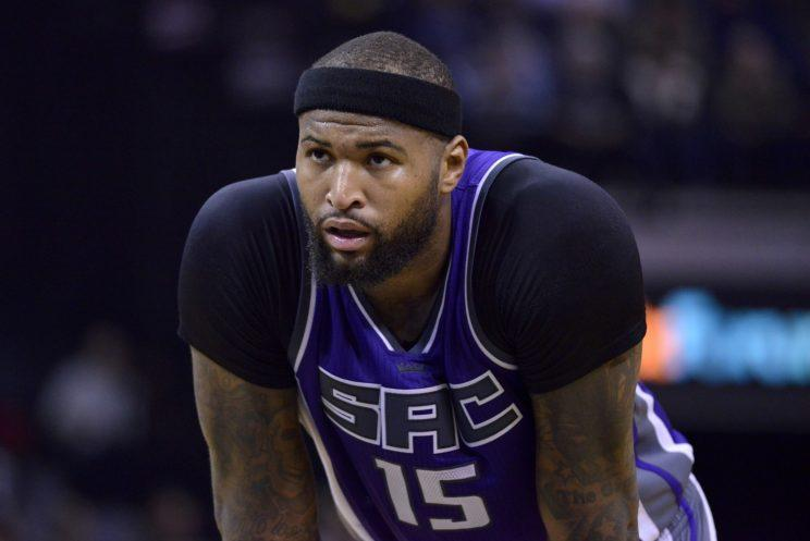 DeMarcus Cousins played seven seasons with the Kings. (AP)