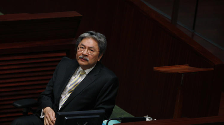 HK expects modest economic recovery in 2013