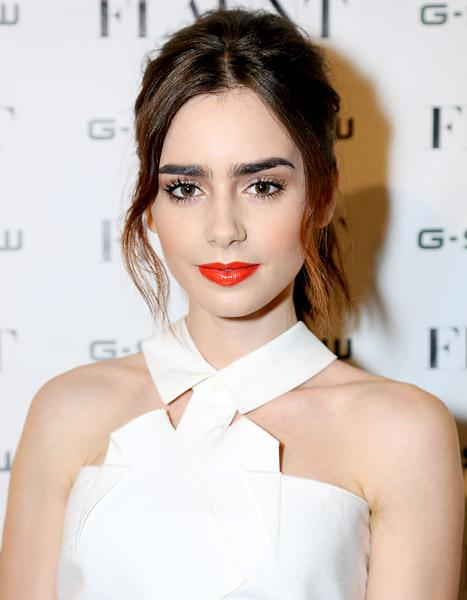 Lily Collins Will Be New Face of Lancome