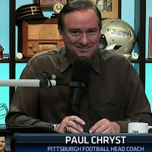 Paul Chryst on Pittsburgh's win over Notre Dame