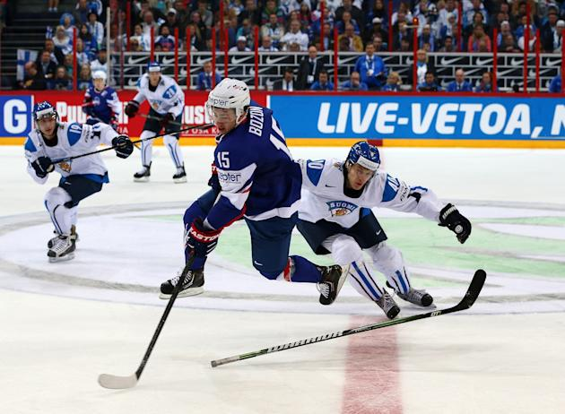 Finland v France - 2013 IIHF Ice Hockey World Championship