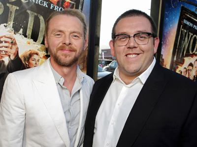 It's 'The World's End' in LA for Pegg and Frost