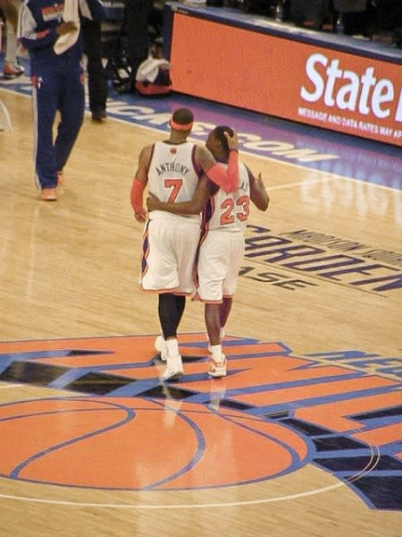 Carmelo Anthony Advised To 'Shut It Down' For The Season With Knee Injury