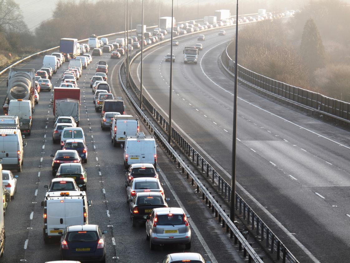 The average commuter lost 100 hours to congestion in 2014