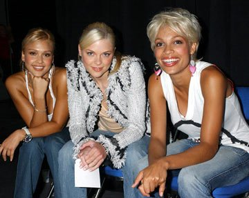 Jessica Alba, Jaime King and Rosario Dawson Sin City panel 2004 San Diego Comic-Con International - 7/24/2004