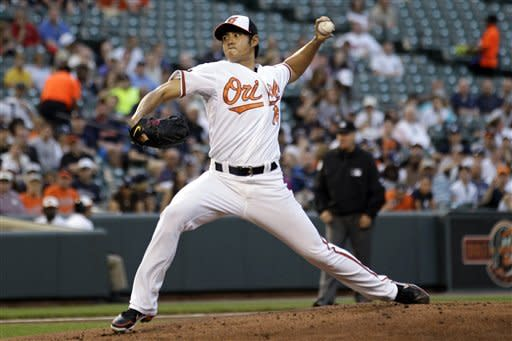 Chen leads Orioles to 5-2 win over Yankees