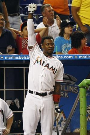 Buck, Morrison homer in 7th, Marlins beat Cards