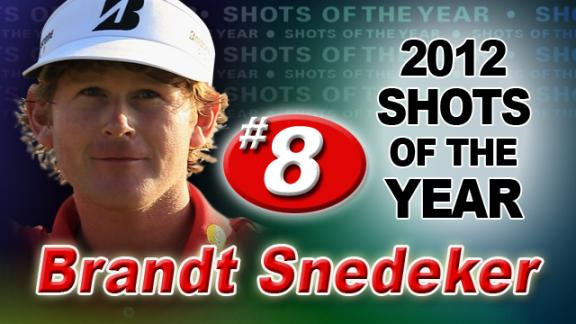 2012 Shots of the Year: No. 8 – Brandt Snedeker