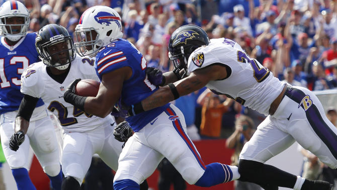 Bills RB Choice ready in reserve for Thursday
