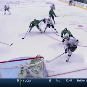 Kari Lehtonen Save on Jeff Carter (01:06/1st)