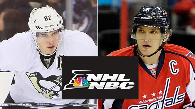 Sidney Crosby Alex Ovechkin NHL on NBC