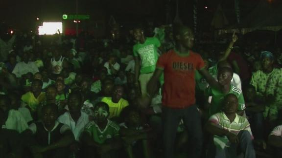 Nigerians erupt with joy after Africa Cup win