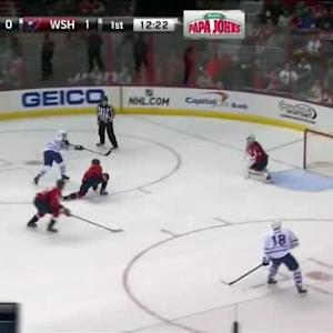 Braden Holtby Save on Nazem Kadri (07:40/1st)