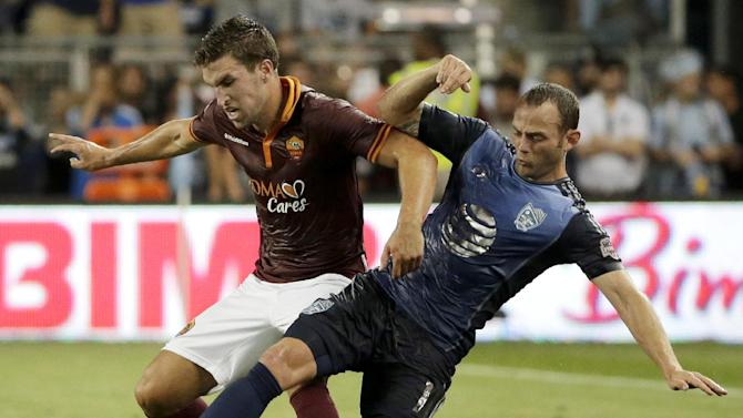 AS Roma routs best of MLS in All-Star game