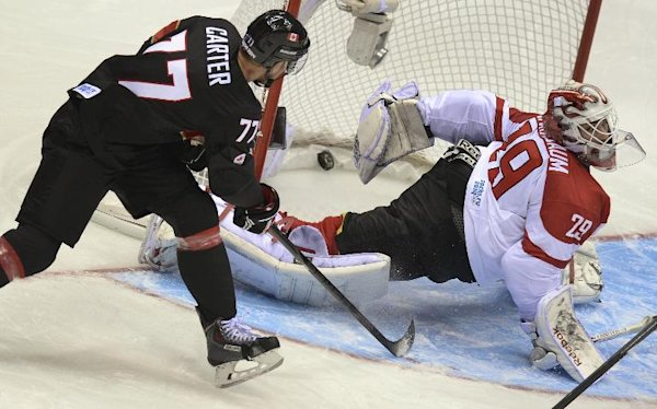 Carter bags hat trick as Canada routs Austria