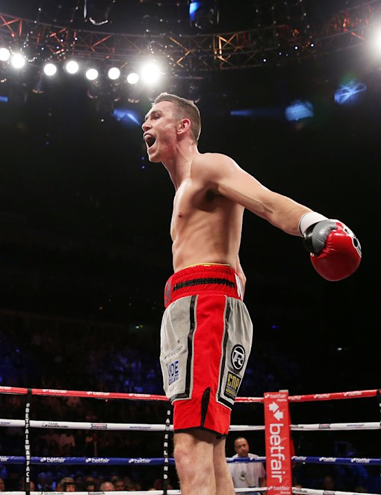 Boxing - Super Middleweight Contest - Callum Smith v Ryan Moore - O2 Arena