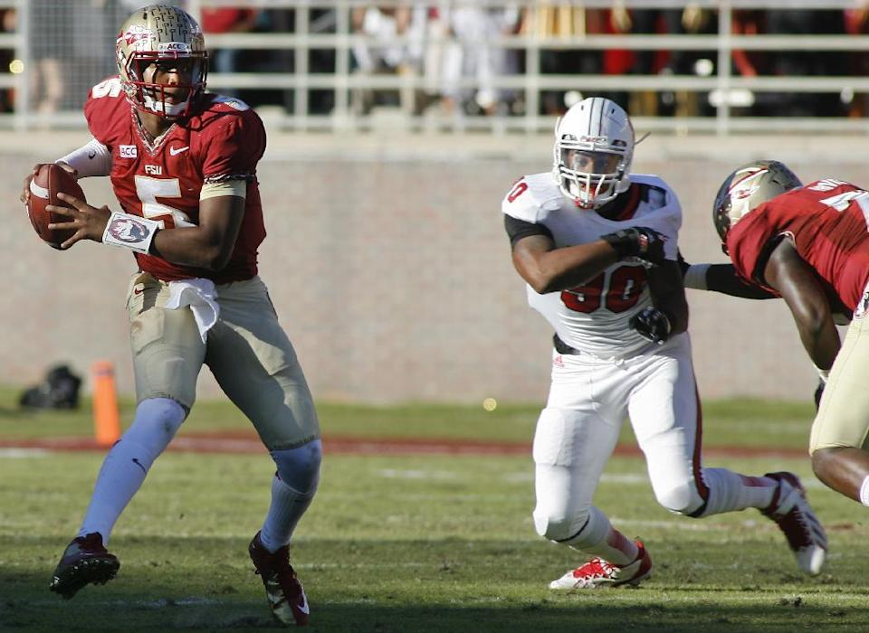 No. 3 Florida State rolls over NC State 49-17