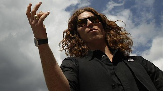Snowboarding superstar Shaun White